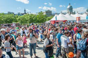 7ème édition du Festival Eureka! au Vieux Port de Montréal.