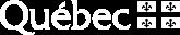 Logo Gouvernement du Québec - fond noir